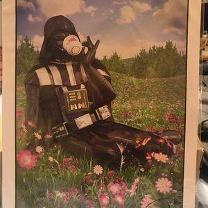 Darth Vader and his tea print 16x12